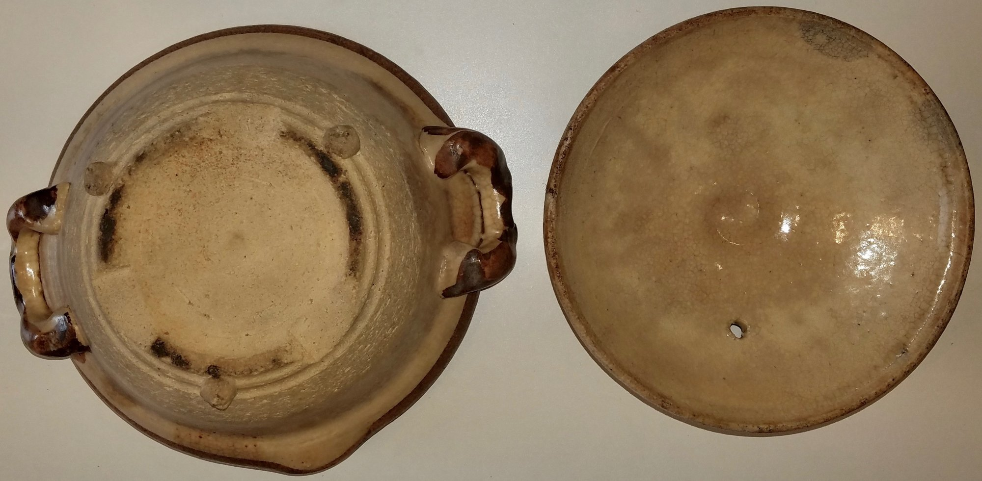 Chinese Rice serving bowl with lid