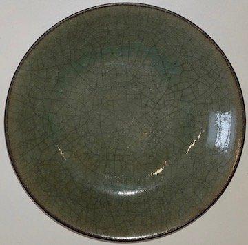 Japanese Crackleware dish