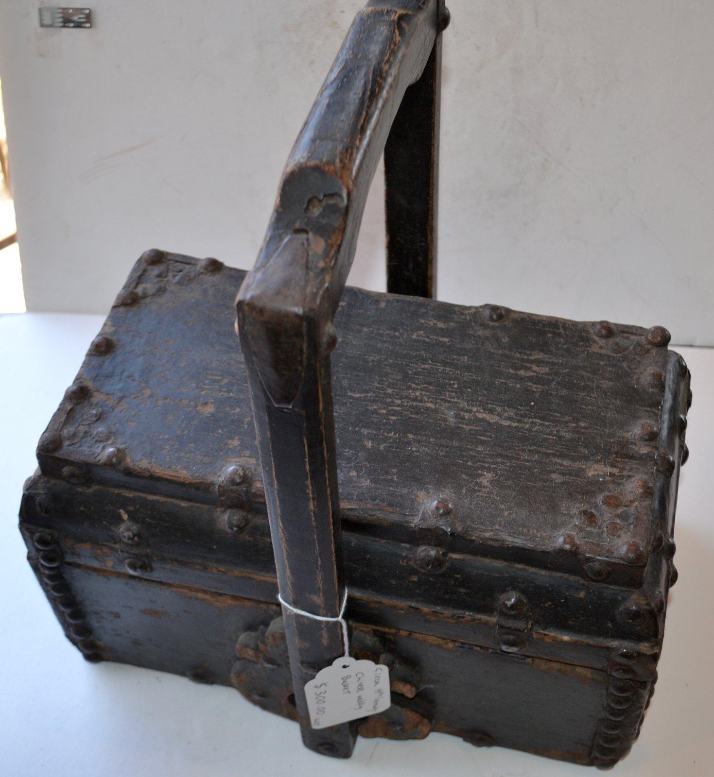 19th Century Chinese Wedding Basket