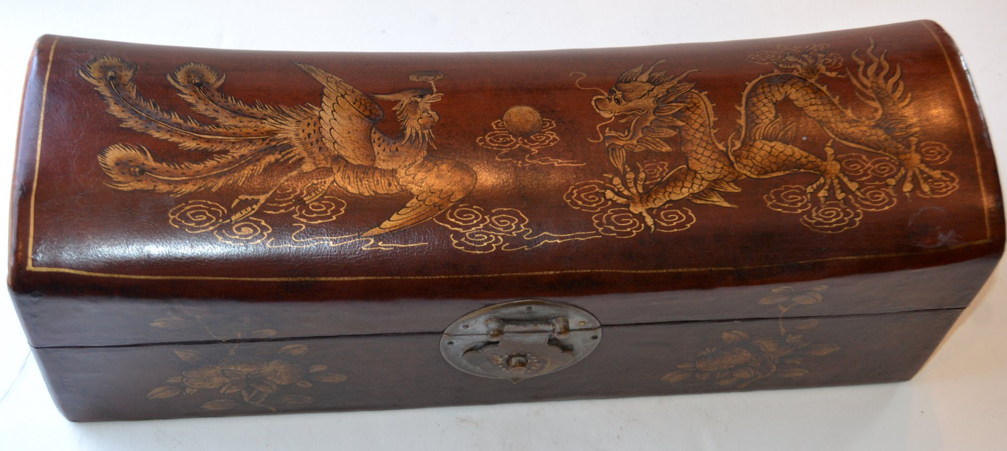 20th Century Chinese Pillow and box in one