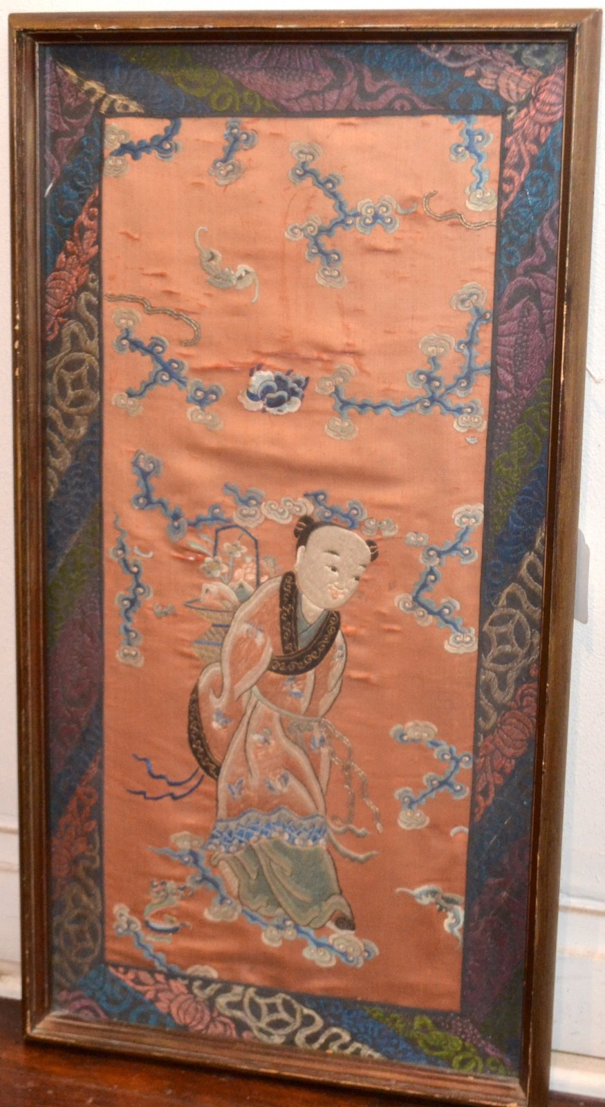Pair of Chinese Embroideries