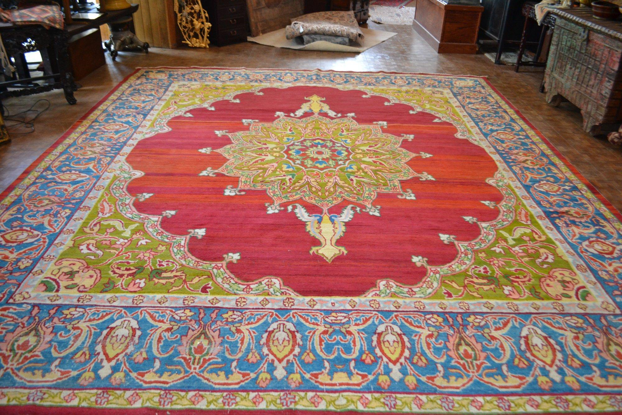 13'8 x 15'8 Persian Tabriz