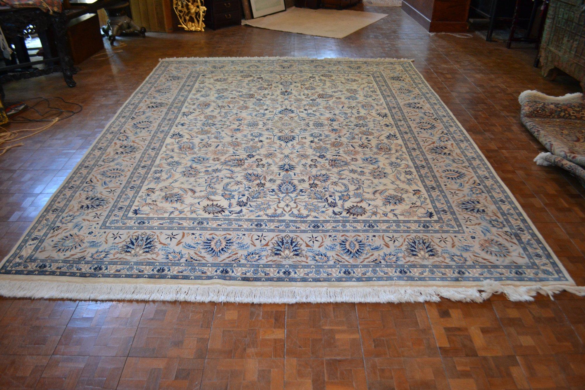 9'3 x 12'9 Persian Kashan