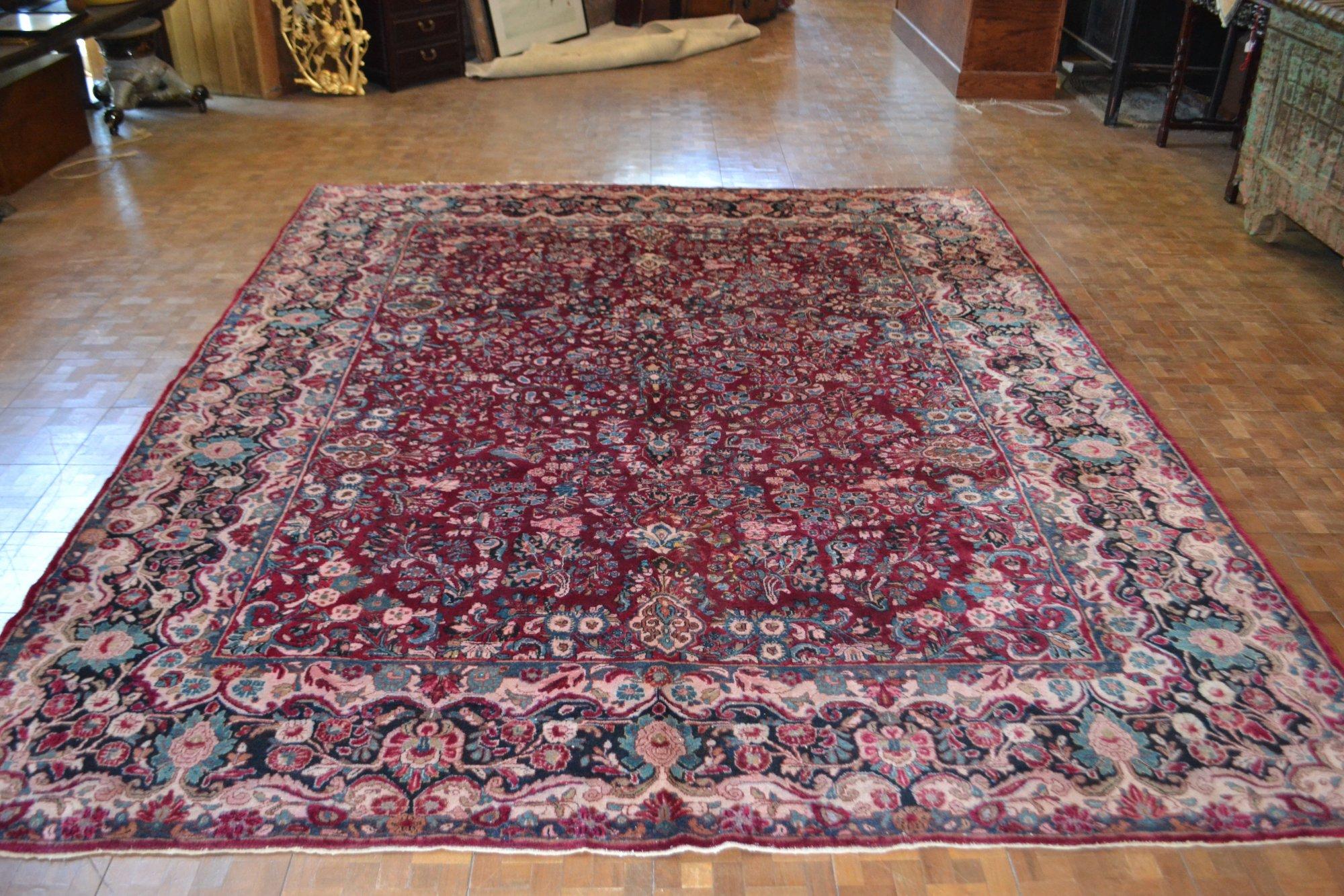 9'3 x 11'5 Persian Sarouk