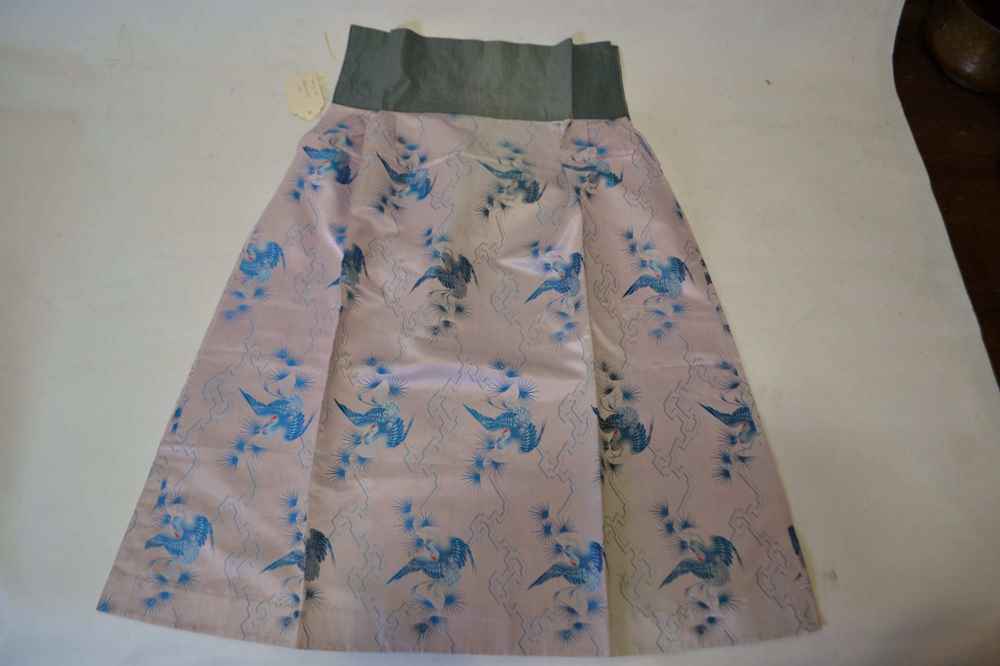 Ching Dynasty Brocade Skirt Apron w/ Jacket 19th Century - PTXY