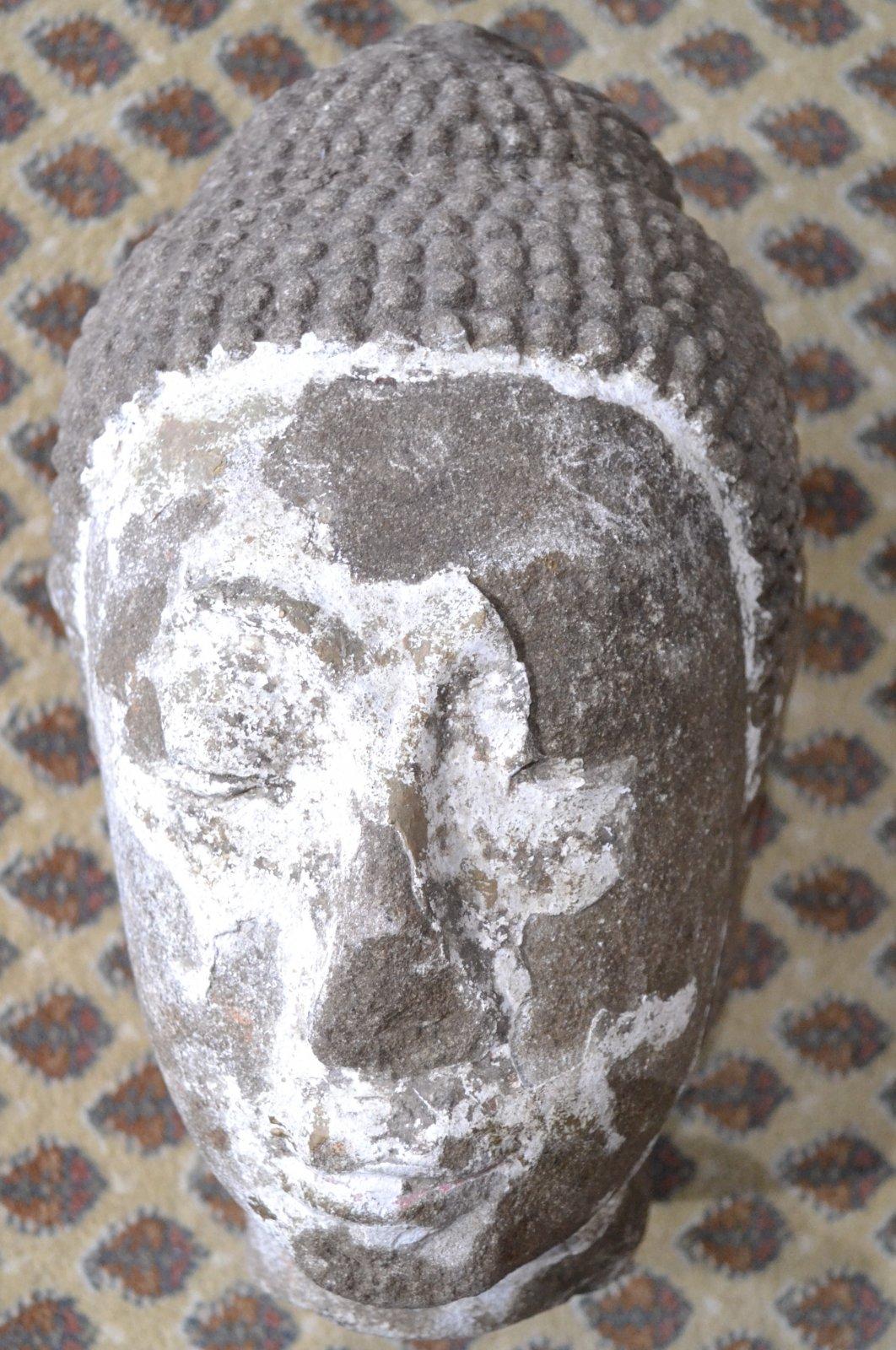 Chinese Stone head fragment