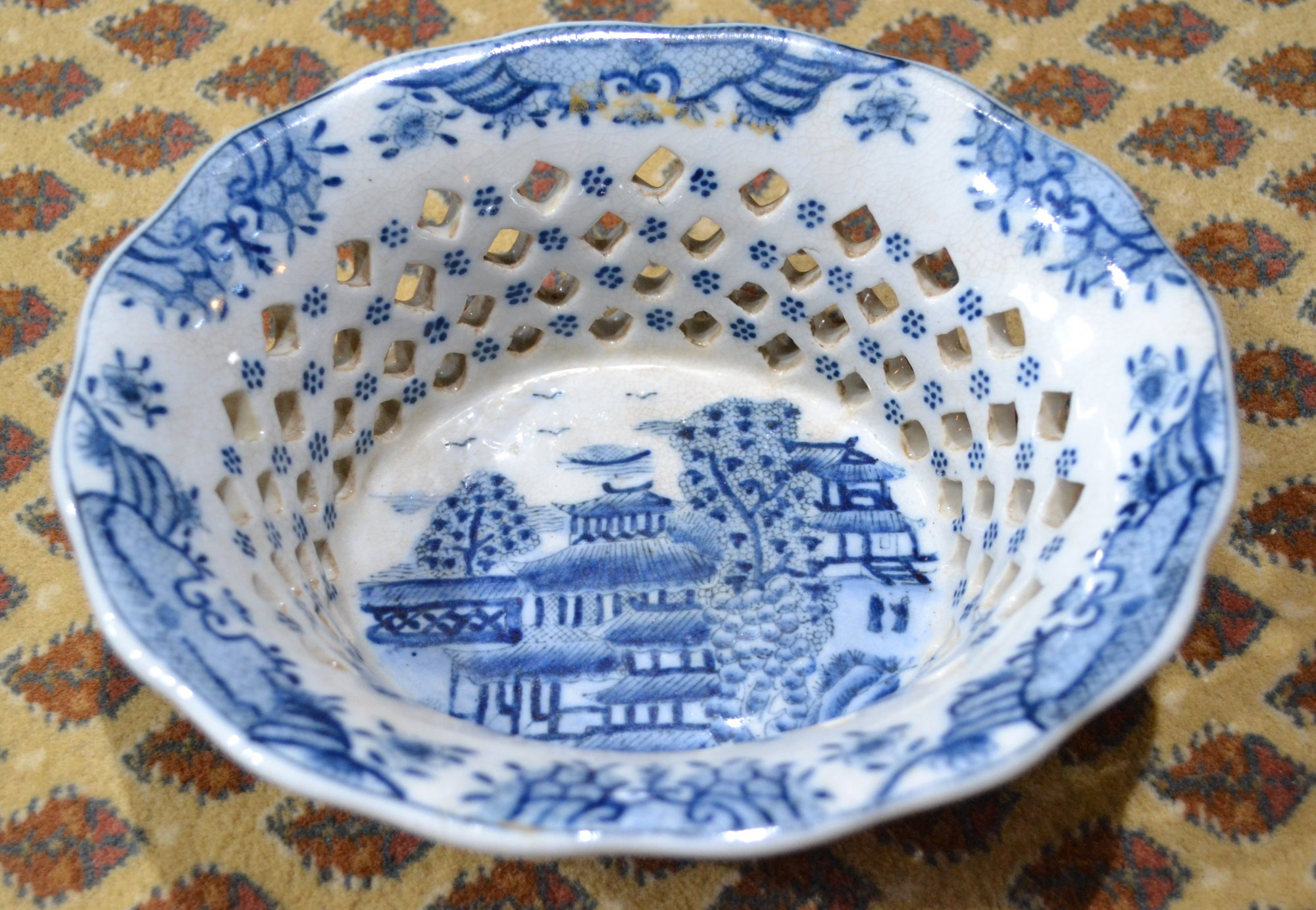 Chinese Blue and White serving bowl