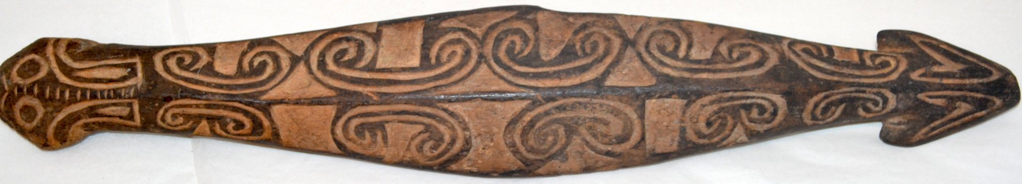 Oceanic Art wooden carved tool