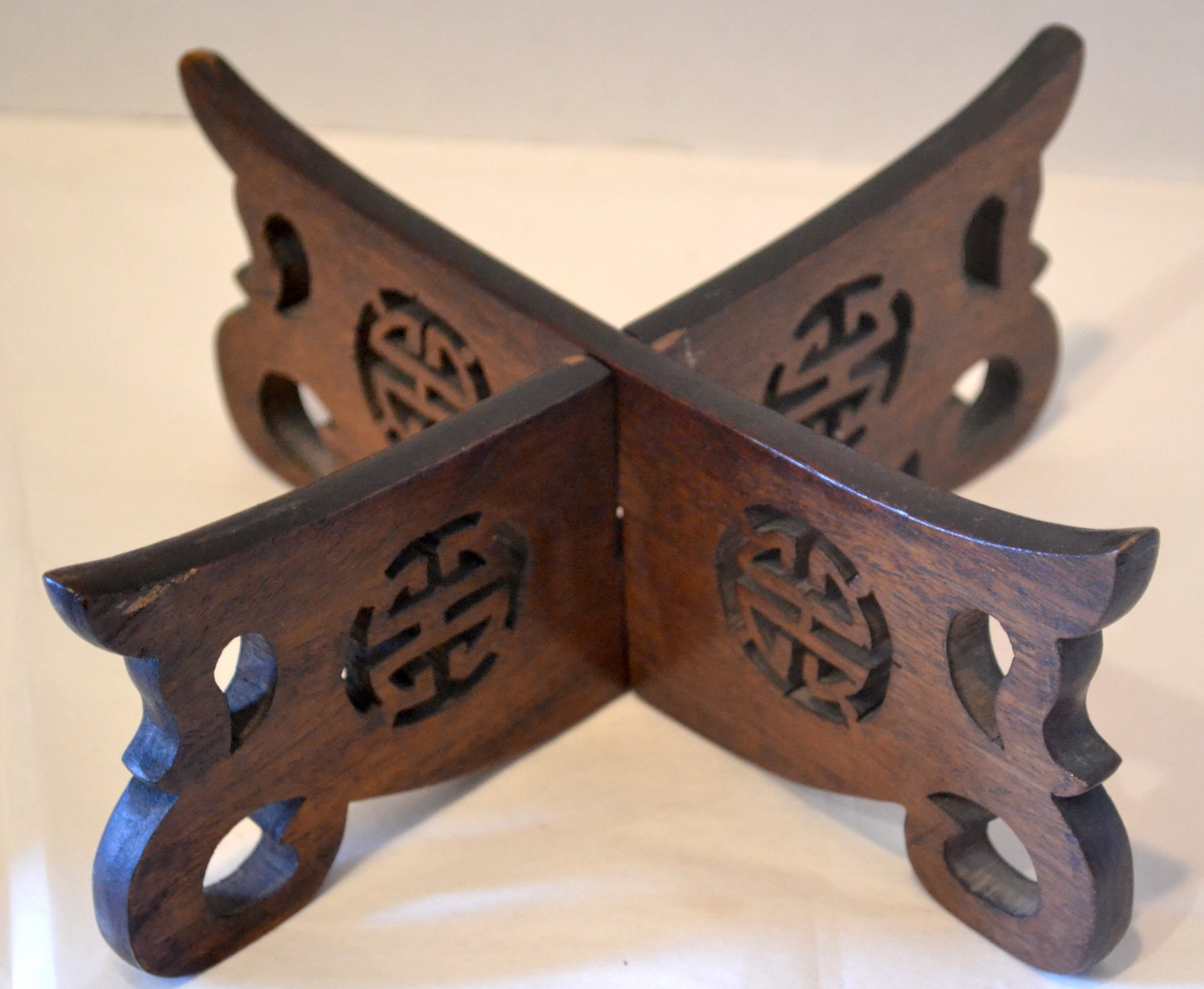 Chinese wooden stand
