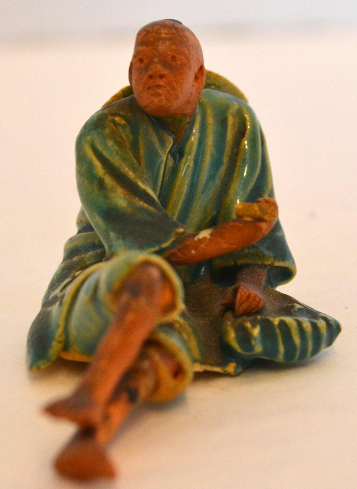 Chinese Earthware Mud Man Figurine