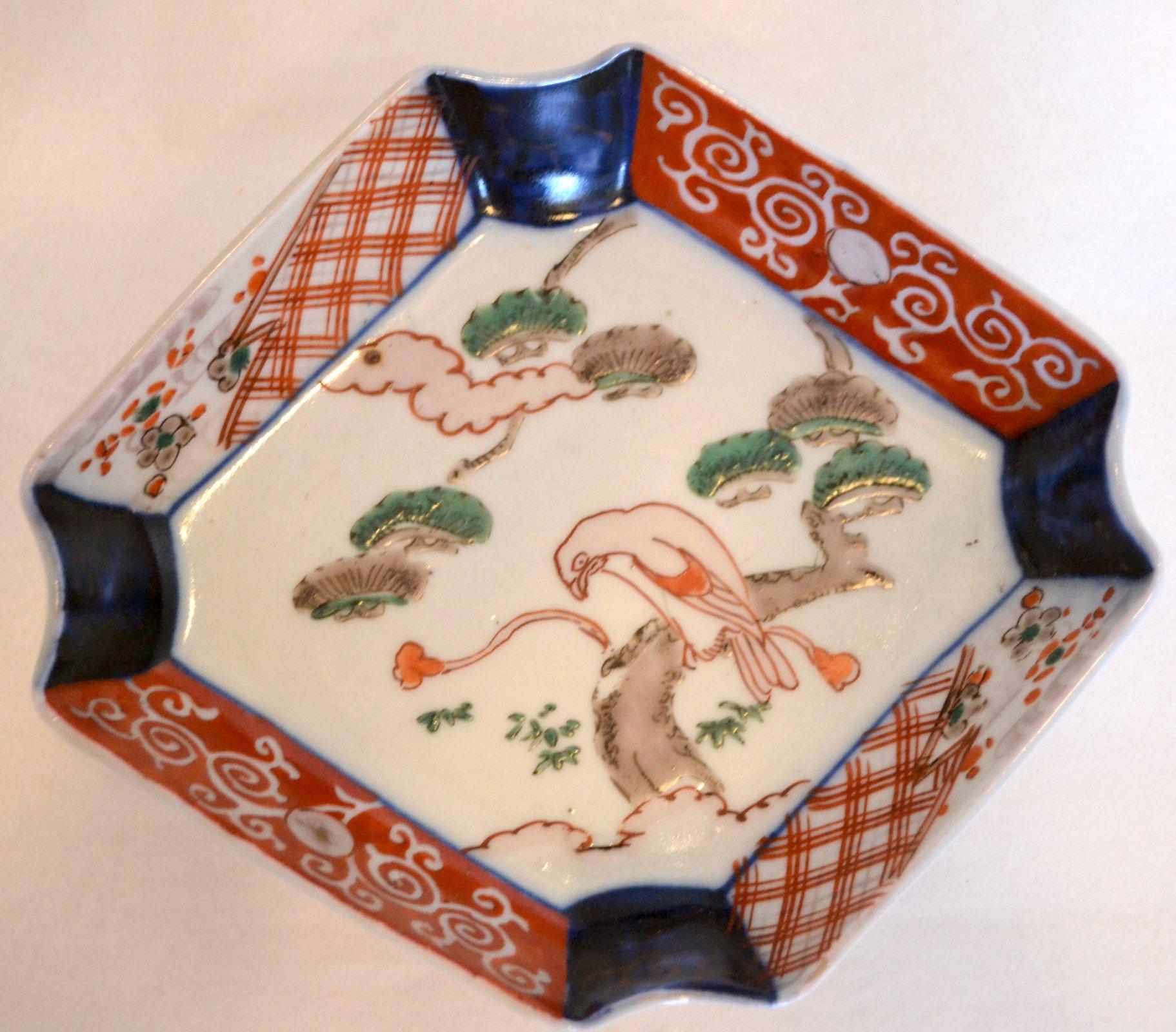 Japanese Porcelain Ash tray