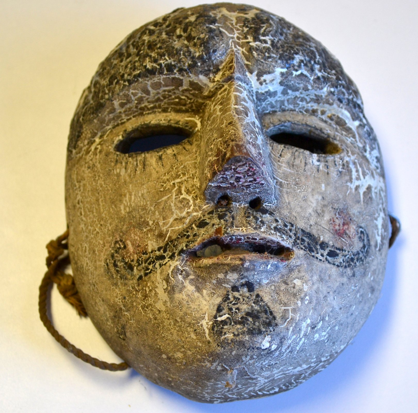 Central American, Guatemala/ Mayan Parton mask from the Patzcar dance