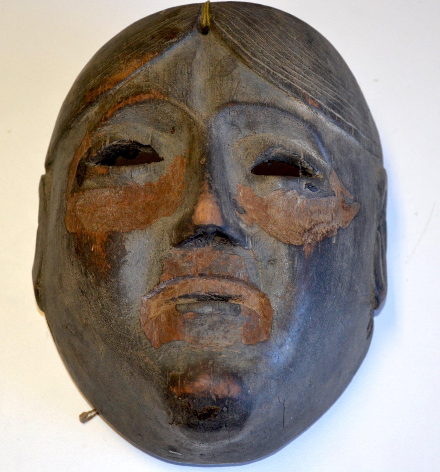 Central American, Guatemala/ Mayan Patron mask from the Patzcar dance