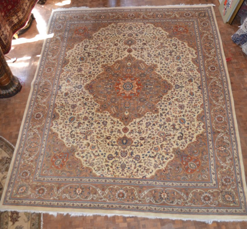 12'0 x 15'0 India hand knotted rug - Kirmen design