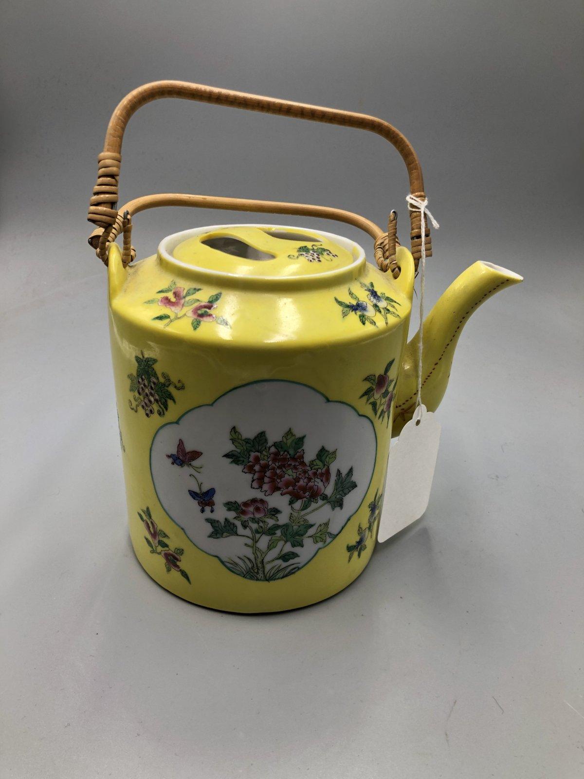 20th Century Japanese tea pot