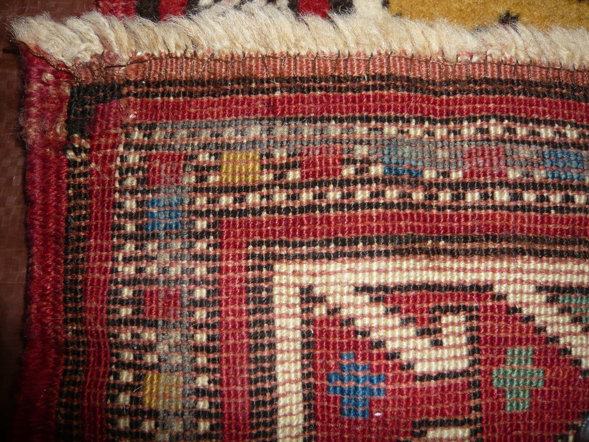 Caucasian Kazak Circa 1920  3' 2 X 4' 4
