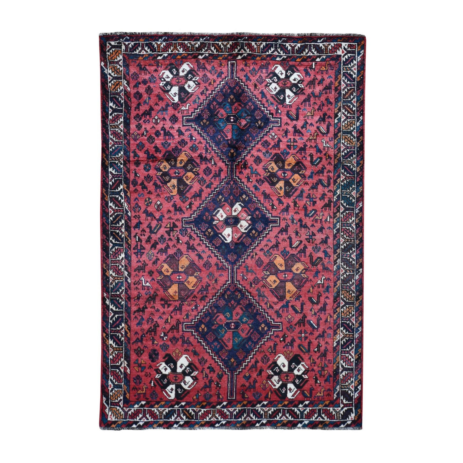 5'8 x 8'4 Persian Shiraz