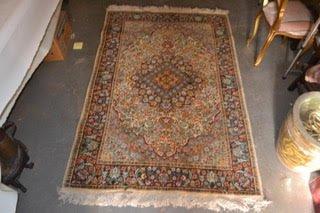 4'2 X 6'1 Persian Tabriz HXY