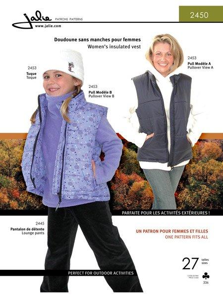 Jalie 2450 - Women's Insulated Vest
