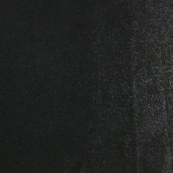 Metallic Slinky Knit - Black