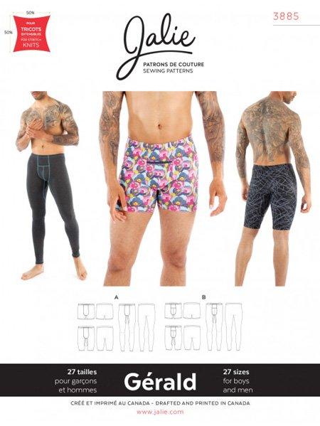 Jalie 3885 - GERALD Male Underwear