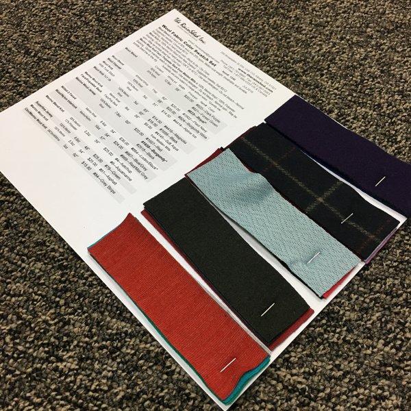 1246 Wool Fabric Swatch Set