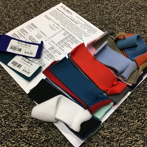 1248 Stretch Fleece Swatch Set
