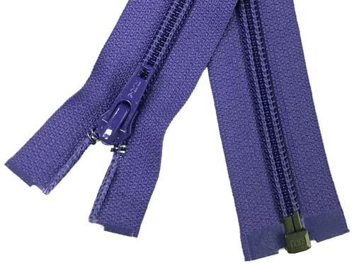 YKK #5 Coil 1-Way Separating Zipper - 30 inch - Purple