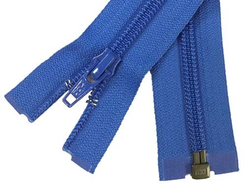 YKK #5 Coil 1-Way Separating Zipper - 30 inch - Royal