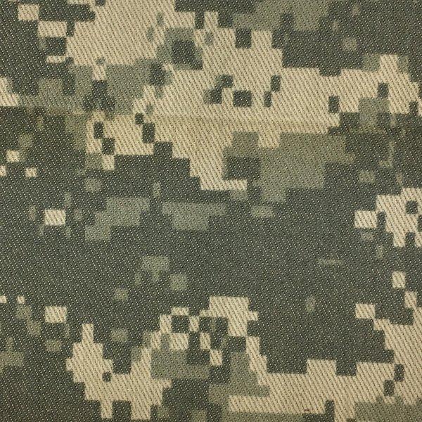 Nylon/Cotton Twill - ACU Grey Green