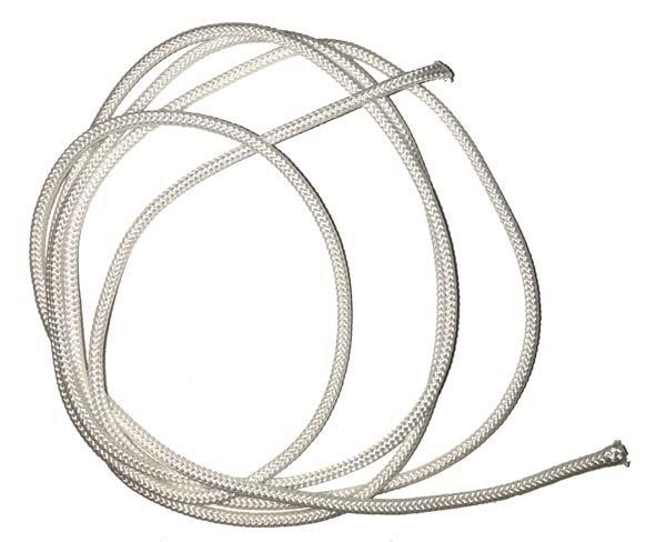 1/16 inch - Round Nylon Cord - White