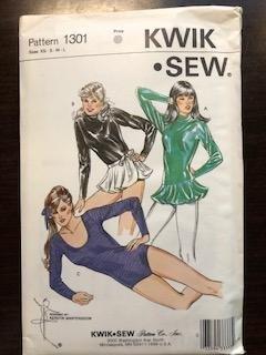 KS1301 - Misses' Leotards and Wrap Skirt