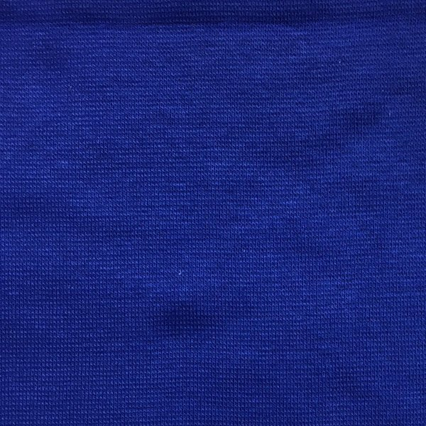 Cotton Lycra Ribbing - Royal