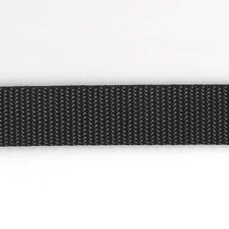 Regular Weight Nylon Web - 5/8 inch - Black