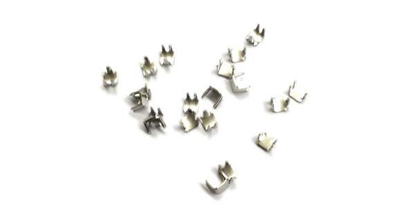 YKK #5 Coil Prong Top Stop - Nickel