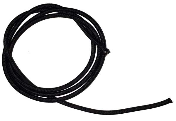 1/8 inch - Shock Cord - Black