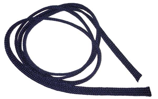 1/4 inch Flat Nylon Bootlace - Navy