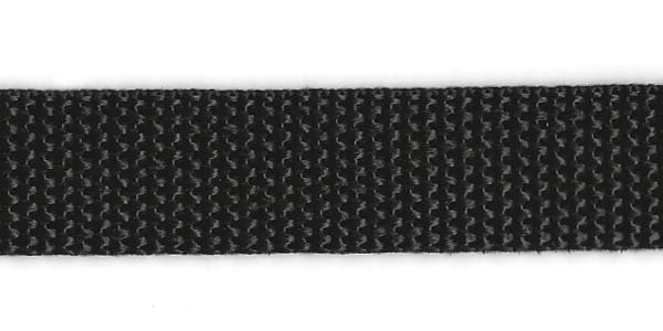 Polypropylene Web - 3/4 inch - Black