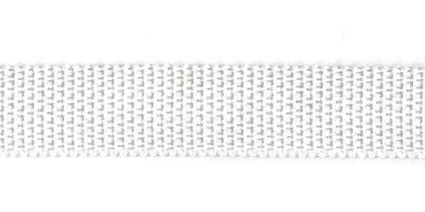 Polypropylene Web - 3/4 inch - White