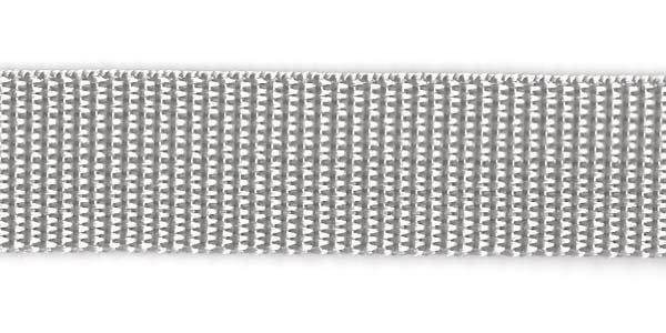 Polypropylene Web - 1 inch - Silver