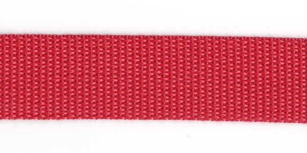 Polypropylene Web - 1 inch - Red
