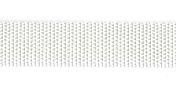 Polypropylene Web - 1 inch - White
