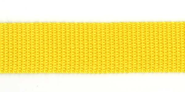 Polypropylene Web - 1 inch - Yellow
