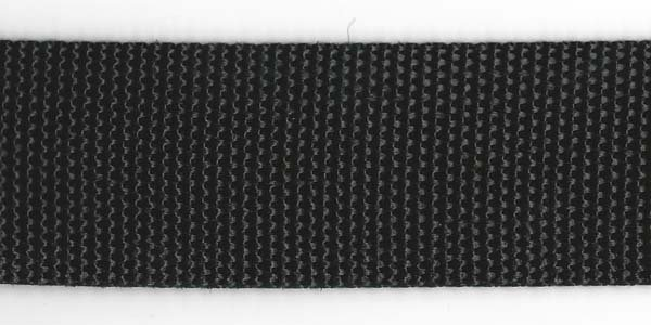 Polypropylene Web - 1 1/2 inch - Black