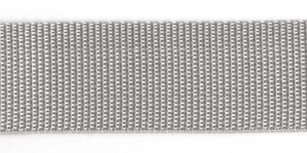 Polypropylene Web - 1 1/2 inch - Silver