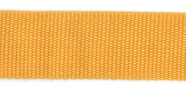 Polypropylene Web - 1 1/2 inch - Light Gold
