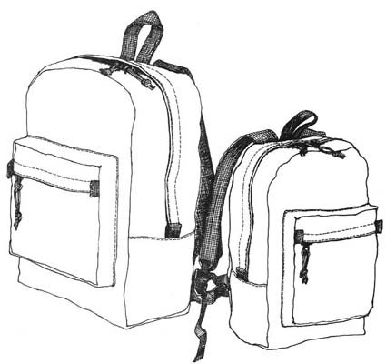 RS140 - Small Daypack - 1000D Cordura Kit
