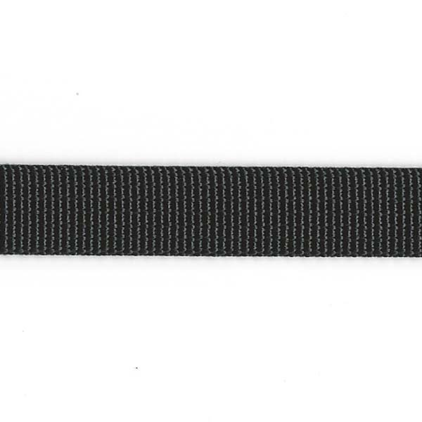 Regular Weight Nylon Web - 1/2 inch - Black
