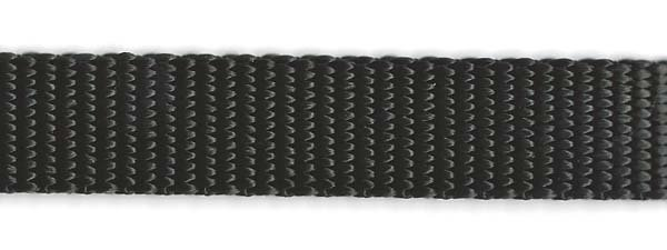 Heavy Nylon Web - 1/2 inch - Black