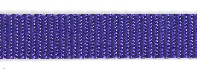 Heavy Nylon Web - 3/4 inch - Purple